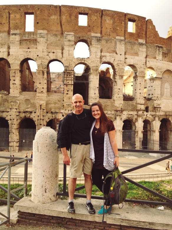 Time with Dad in Rome! A trip I will never forget... also food I will never forget!
